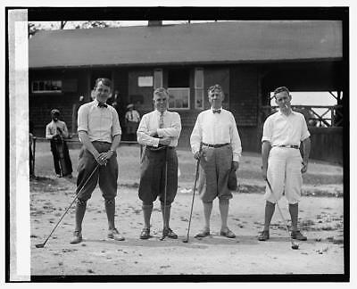 Photo:Wallace golf,5/19/24,Golfing,Golfers,May 1924,1
