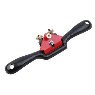 Adjustable Spoke Shave Flat Plane For Woodwork Wood Work Planer Tool 8C