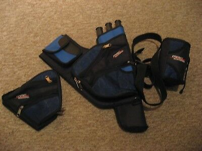 MAC Right Handed archery quiver and accessories
