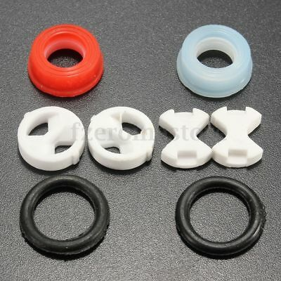 Valve Tap Replacement Ceramic Disc & Silicon Washer Gasket Insert 1/2'' L20