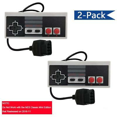 Veanic Replacement Controllers Gaming Pad for Original Nintendo NES 8-Bit System