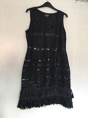 phase eight dress 12 new Flapper/gatsby