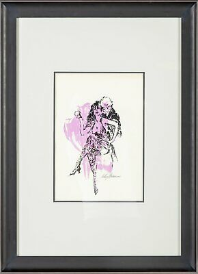 LeRoy Neiman Whores, Wars & Tin Pan Alley Ltd Poster Alvin Epstein Painting