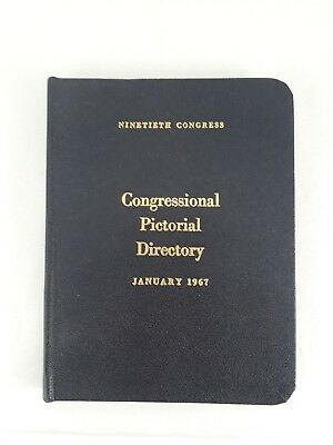 1967 Pocket Congressional Directory In Excellent Condition 202 Pages