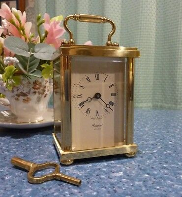 Rapport Brass Carriage Clock