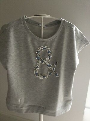 New with tags Fun&Fun designer short sleeved sweatshirt age 15-16