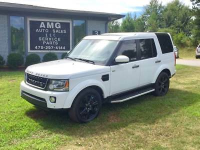 2016 LR4 HSE AWD 4dr SUV 2016 Land Rover LR4 HSE AWD 4dr SUV 30,280 Miles White SUV 3.0L V6 Supercharger