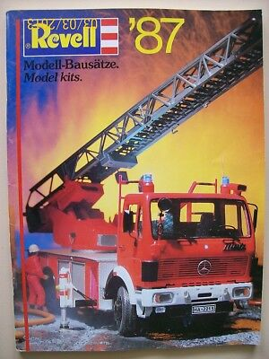 Revell Model Magazine From 1987 Printed In Deutsch And English Used But As New