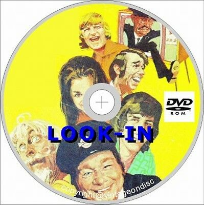 Look-in Comics Collection 100+ Comics on DVD, UK