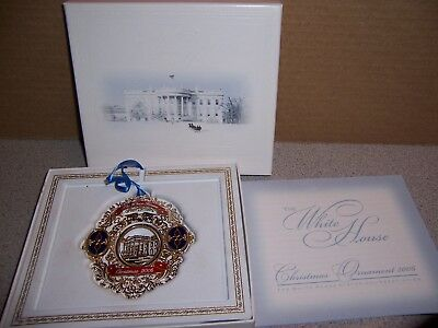 Mint In Box The White House Historical Association Christmas Ornament 2006
