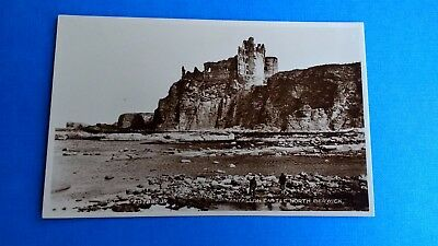 Tantallon Castle North Berwick Vintage Postcard