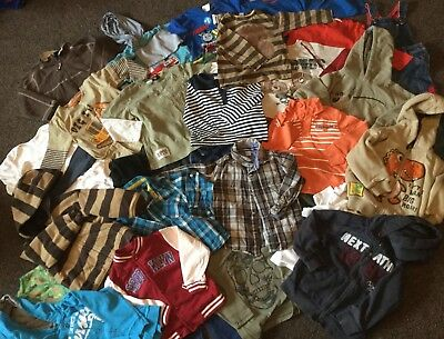 50+Items-Large Bundle Of Boys Clothes Age 2-3 Years Vgc Next, Matalan,tu,f&f M&s