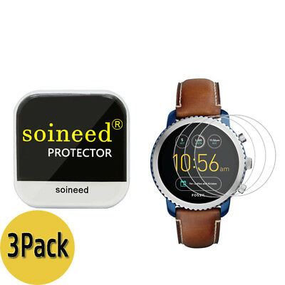 {3-Pack} SOINEED® Fossil Q Explorist Gen 3 Tempered Glass Screen Protector