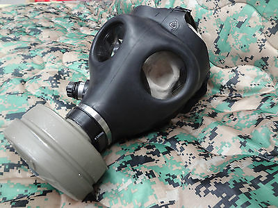 Israeli Gas Mask Military NATO 40 mm Filter Canister Halloween Costume Army