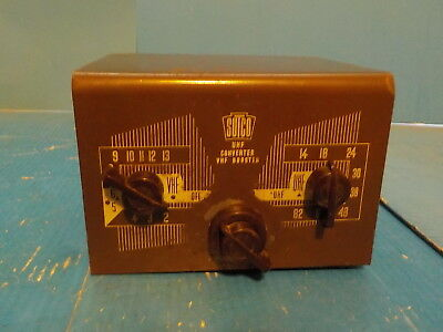 Vintage Sutco UHF Converter VHF Booster