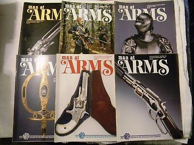 Man at Arms. Magazines. 1994 Complerte Year.  (6 Magazines)