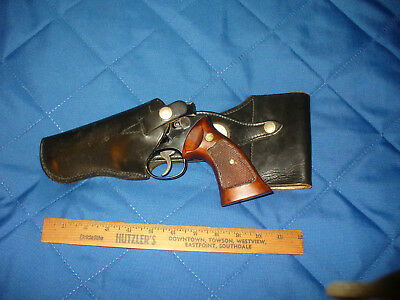 "Vintage Police S&W Colt 4"" Swivel Holster Uniform Old School LH Baltimore City"