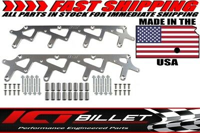 LS Billet Coil Brackets Holley AMP EFI Smart Coil Pack for Holley Valve Covers