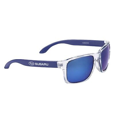 Subaru Official Soleil Sunglasses Clear/Blue UV 400 Lens UVA/UVB Protection NEW
