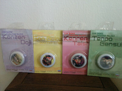 Saiyuki Gaiden - Can Badge Collection Pin Set - Officially licensed item