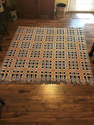 Coverlet Early 19th Century American  Virginia