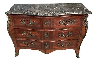 Late 1700s / Early 1800s Rosewood Louis XV Style Bombay Chest