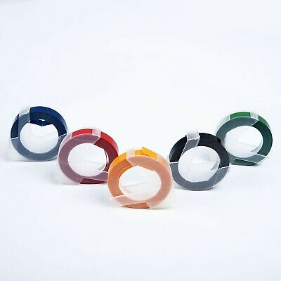 Embossing maker type Label Tape for MOTEX Dymo 5 Colors 9mm X # high quality