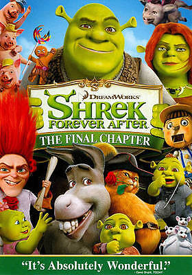 3 CENT DVD - Shrek Forever After . . . *FREE Shipping on any 4 DVDs*