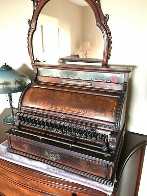1890  Mahogany, National Cash Register Company, #24118, Size 4, (in Tampa FL)