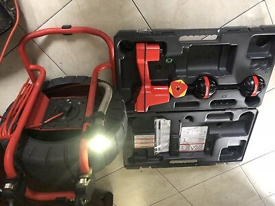 RIDGID COMPACT2 COLOR SEWER INSPECTION VIDEO CAMERA With Locator Scout