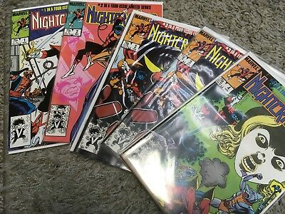 Nightcrawler (X-men) 1985 #1-4 Complete plus extra #3 Marvel comics Mini-Series