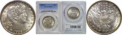 1909-O Barber Half Dollar PCGS MS-65