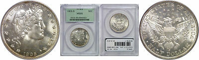 1905-S Barber Half Dollar PCGS MS-65