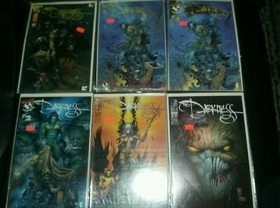 The darkness 1-10 vol 1 plus 1/2 and preview edition 1st print garth ennis image