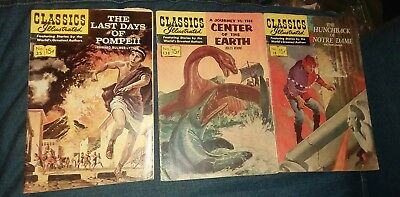 classics illustrated 18 35 138 silver age comic lot the hunchback of notre dame