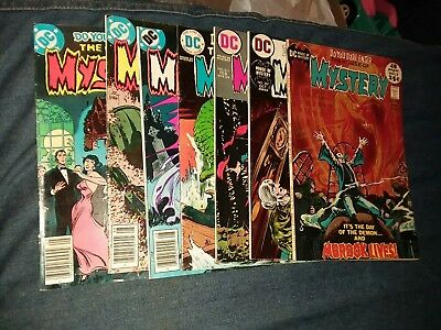 House Of Mystery 7 Issue Bronze Age Dc Horror Comics Lot Run Set Collection