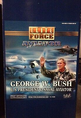 """George W. Bush US President & Naval Aviator 11"""" 1/6 Scale Collectible Figure"""