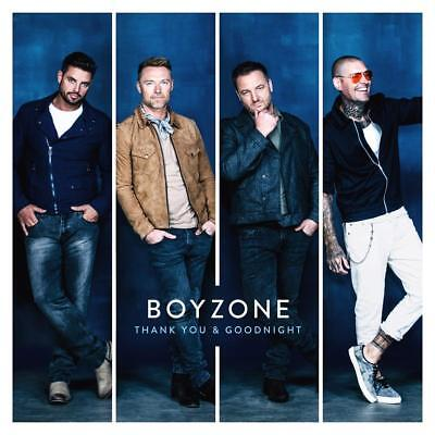 Boyzone 'thank You & Goodnight' Cd (2018)
