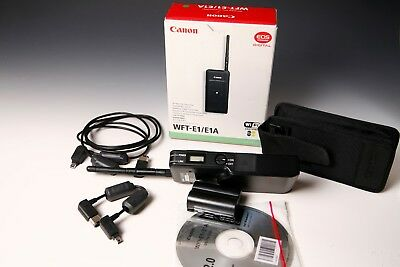 Canon WFT-E1 / E1A Wireless File Transmitter in OVP 1a Zustand