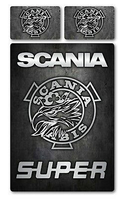 scania single bed cover. Truck scania