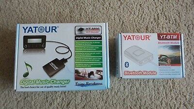Yatour USB SD AUX MP3 Adapter + Bluetooth Adapter Opel CD30 MP3, CD 300 AUX