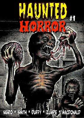 246 HAUNTED HORROR #1 Rainfall chapbook. Tales of horror and the macabre