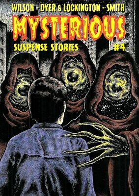 259MYSTERIOUS SUSPENSE STORIES #4Rainfall chapbook. Tales of Horror