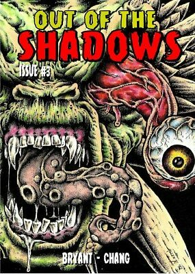 266 OUT OF THE SHADOWS#3 Rainfall chapbook. Tales of horror and the macabre