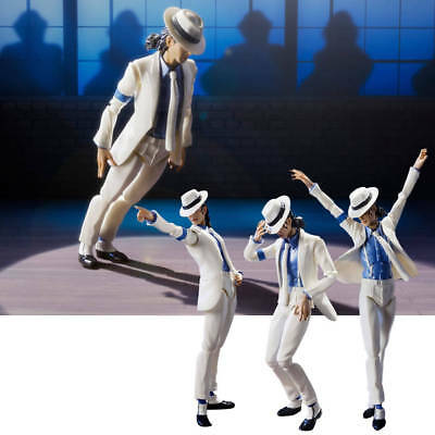 S.H.Figuarts Michael Jackson MJ Moonwalk Action Figure Collectible Toys Gifts IT