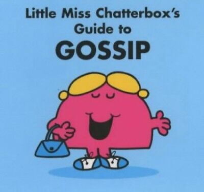 Little Miss Chatterbox's Guide to Gossip Paperback Book The Cheap Fast Free Post