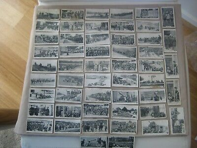 Collectable Will's Cigarette cards - War Pictures.