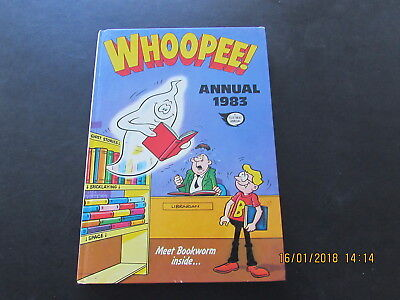 The Whoopee!   Annual   1983  Very Good For  Age