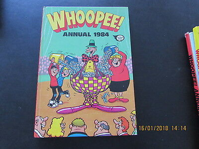 The Whoopee!   Annual   1984  Very Good For  Age
