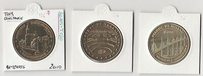 Lot 0126- 3 Médailles Monnaie de Paris  - 2006 M  patine sup  + 2010  + 2015